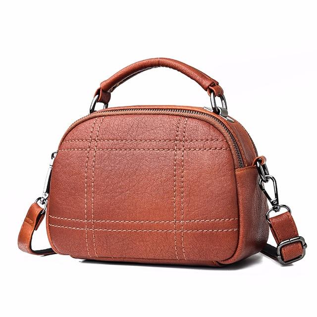 Women Messenger Bags 2019 Crossbody Bags For Women Soft Leather Shoulder Bag Sac A Main Small Handbags High Quality Flap Bag