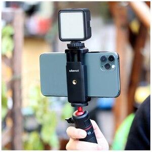 Image 5 - Ulanzi IRON MAN Aluminio Universal Del Teléfono Soporte Ajustable de Soporte de Clip Adaptador de Montaje de trípode para el iphone 7/7 Plus Android Smartphone