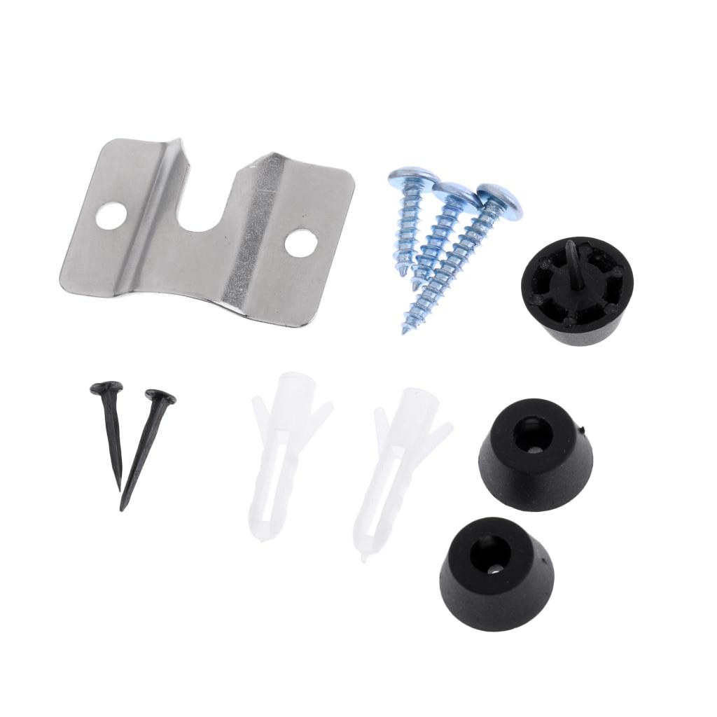 Dartboard Mounting Bracket Hardware Kit With Screws For Hanging Dartboard