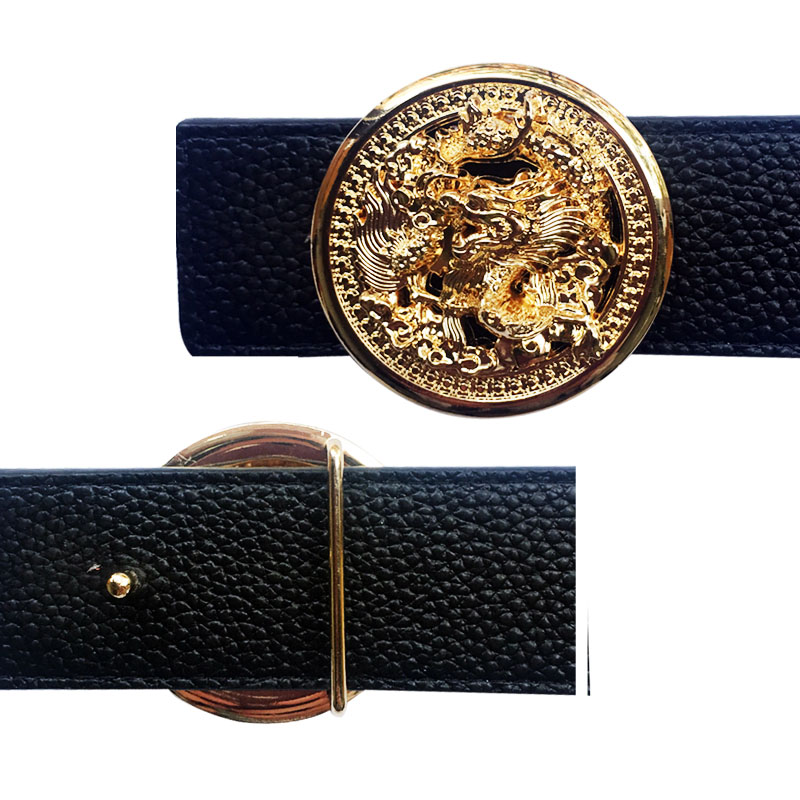 Dragon Buckle For Men's Belt  Suitable For 4 Cm Width Belts Luxury Accessories