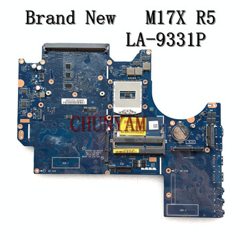 Nowy dla DELL Alienware M17X R5 laptopa płyty głównej płyta główna w VAS00 LA-9331P CN-02XJJ7 2XJJ7 płyty głównej 100% testowane