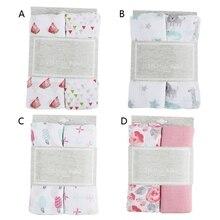 Blanket Baby Quilt Bed-Cover Swaddle-Wrap Newborn Infant Cotton Muslin 2pcs/Set
