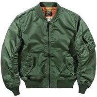 Big Size American Pilot Jacket Men Military Mens Bomber Jackets Chaqueta Hombre Casual Mens Jackets and Coats Solid 4xl HH30JK