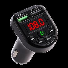 Transmetteur FM Bluetooth 5.0 avec écran LED, Kit de voiture, double USB, chargeur 3,1 a 1a, 2 ports USB, lecteur de musique MP3, support disque TF/U
