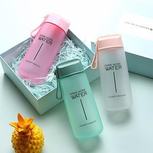 Water Bottles Leak Proof for Girl Biking Travel Portable Cute Water Bottle Plastic Eco-Friendly 550ML R2031