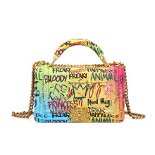 Sac a Main New Graffiti Crossbody Woman Bag for 2019 luxury