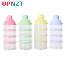 Портативный дозатор формулы молочного порошка, контейнер для хранения еды, миска для кормления малышей, для детей ясельного возраста, четыре сетки, контейнер для детского питания, коробка