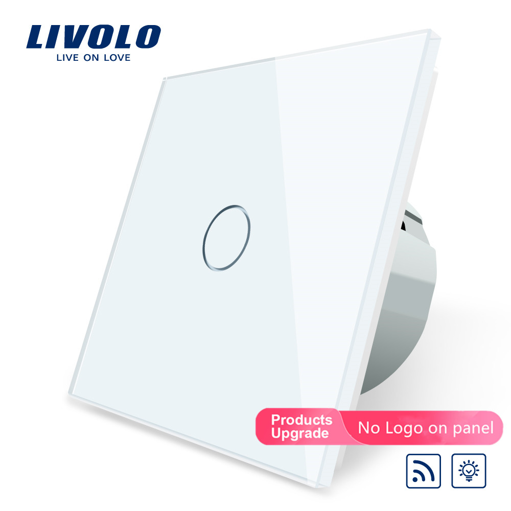 Livolo EU Standard Switch,220~250V ,Remote And Dimmer Function Wall Light Switch,C701DR-1/2/3/5 (No Remote Controller ),no Logo