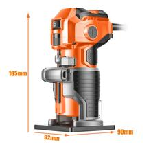 1280W 35000rpm Holz Trimmer Elektrische Trimmer Holz Fräsen Gravur Stoßen Trimmen Maschine Hand Carving Maschine Holz Router