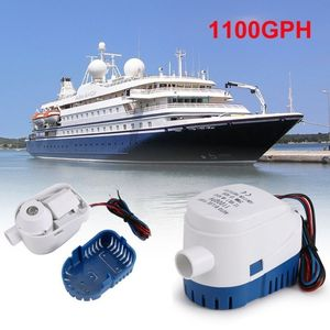 Bilge Auto Water Pump Automatic Bilge Water Pump 12V 750GPH/1100GPH For Submersible Auto Pump With Float Switch Sea Boat Marine