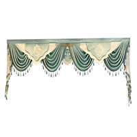 Designer tailor made high quality Valance for living room bedroom hotel kitchen windows not include curtains and tulle