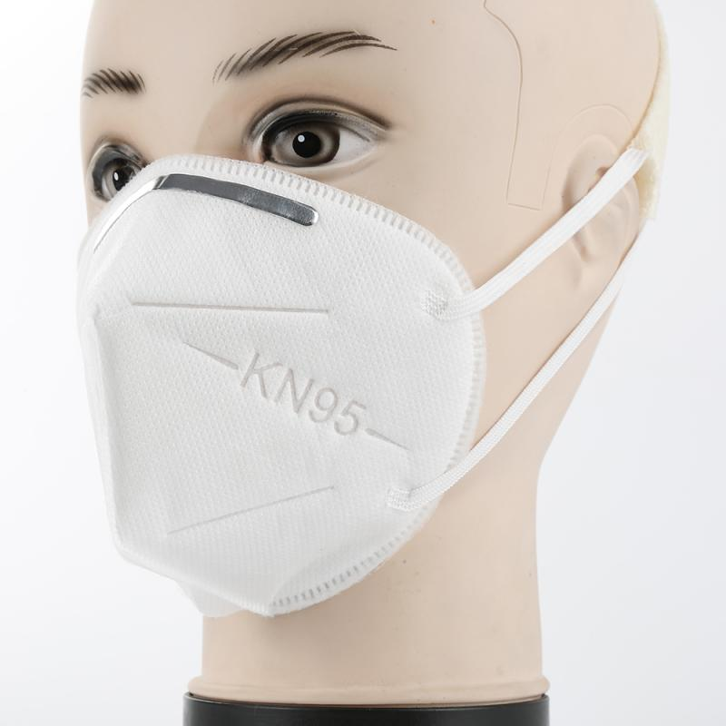 Ffp2 KN95 Masks 3D Three-dimensional Design Breathable And Comfortable PM2.5 Reusable Face Mouth Masks Anti-fog Dust-proof White