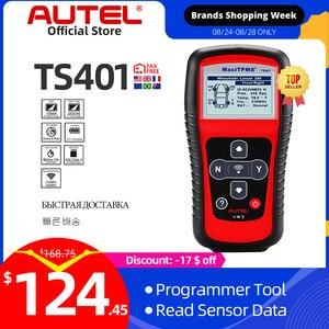 Image 1 - Autel MaxiTPMS TS401 Della Pressione Dei Pneumatici Sistema di Monitoraggio OBD2 TPMS Diagnostico Scanner Strumento di Attivare 315 Sensore di 433MHZ di Programmazione