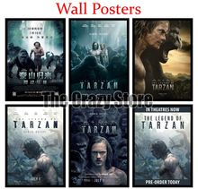 The Legend of Tarzan White Kraft Paper Art Painting Print Poster Picture Wall Fashion Home Decor 42X30cm