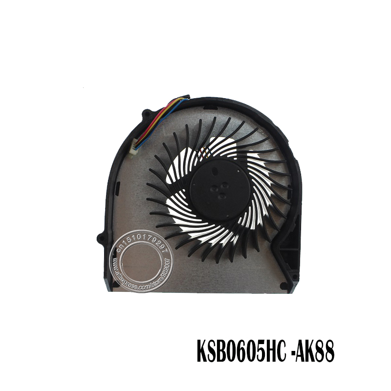Laptop CPU Cooling Fan For LENOVO B570 B575 B575E B570E V570 Z570 V570A Z575 DFS531205HC0T FA9N KSB0605HC AK88