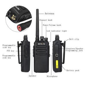 Image 5 - Retevis RT81 DMR Kỹ Thuật Số Bộ Đàm IP67 Chống Nước Đài phát thanh UHF400 470MHz VOX Hai chiều cho Trang Trại Nhà Máy Kho
