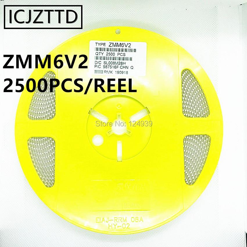 500PCS 10V ZMM10V 1//2W 0.5W SOD-80 LL34 SMD Zener Diode