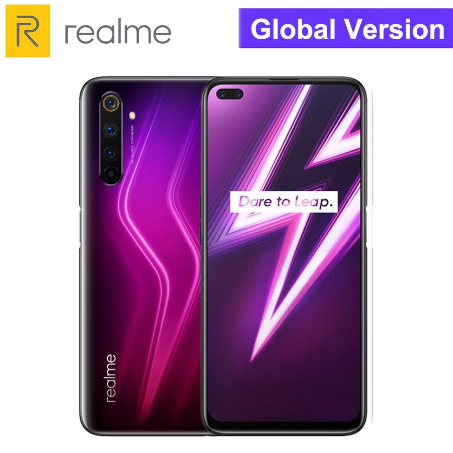 Realme 8GB RAM 128GB ROM SmartPhone Realme 6 Pro Mobile Phone Snapdragon 720G 90Hz Display 30W Flash Charge 4300mAh Cellphones  - AliExpress