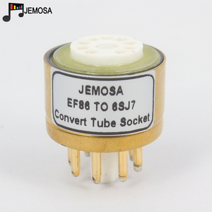 Image 3 - 1PC E80F EF86 TO 6SJ7 6J8P 6SH7 5693 717A 6Ж8C DIY HIFI Audio Vacuum Tube Amplifier Convert Socket Adapter Free Shipping