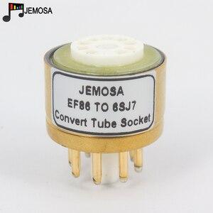 Image 3 - 1PC E80F EF86 TO 6SJ7 6J8P 6SH7 5693 717A 6Ж8C DIY HIFI Audio หลอดสูญญากาศเครื่องขยายเสียงแปลงอะแดปเตอร์ซ็อกเก็ตจัดส่งฟรี