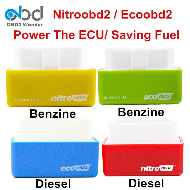 2019 Nitroobd2 чип блок настройки Nitro OBD2 ECO OBD2 производительность Plug Drive Flash ECU Benzine дизель Nitroobd2 Ecoobd2 сканер