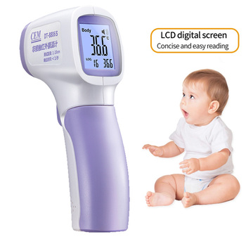 Baby/Adult Thermometer Infrared Digital Thermometer Gun Noncontact Temperature Measurement Device DT-8806S for Baby Children