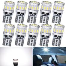 10x T10 W5W 168 194 LED Canbus Bulbs Car Parking Lights For Corolla Auris Avensis Prius Toyota RAV4 Yaris Camry 2007 2008 2009