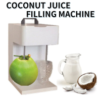 Coconut Juice Filling Machine Automatic Filling Small Beverage Equipment High Efficiency Beverage Filling