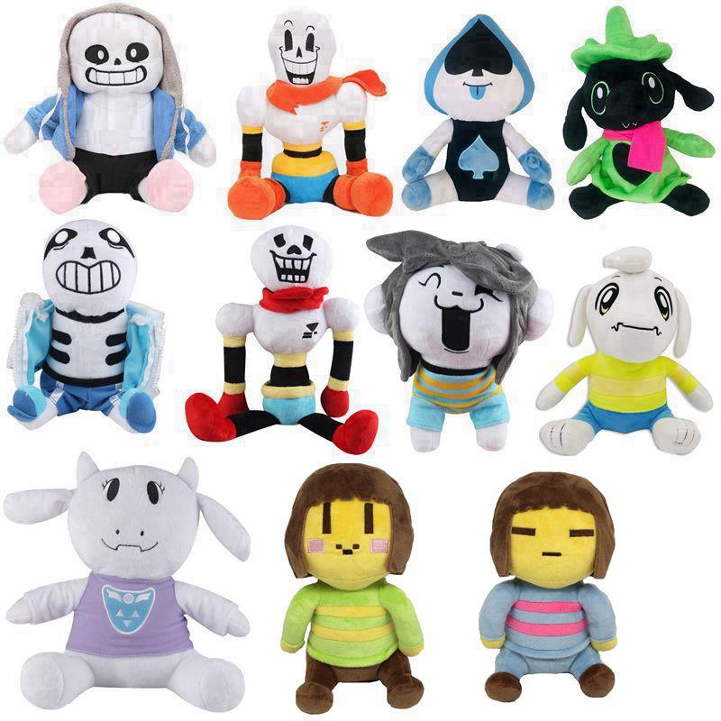 Undertale Sans  Asriel Toriel Stuffed Plush Doll For Kids Christmas Gift Toy