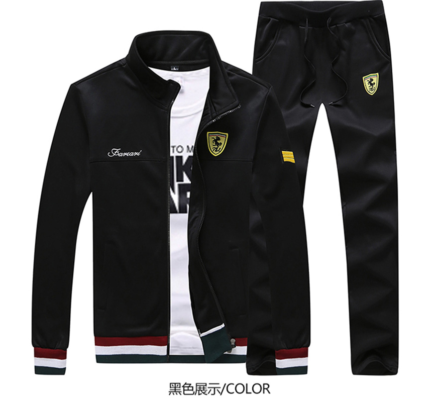 Hoodie Suit New Fall 2020 Men's Solid Color Casual Sport Coat Men's Trendy Casual Suit