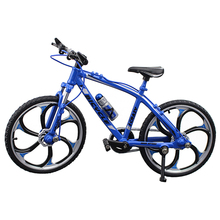 Ornament-Accessories Bicycle Toy Bike-Model Miniature Gift Finger-Racing Kids Boys Children