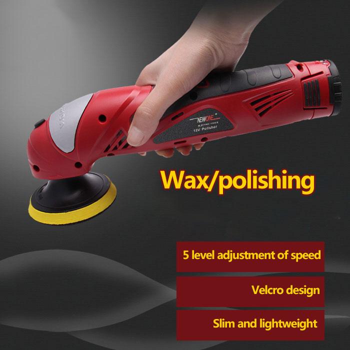 Machine 12V Shining NEWONE Tool Car Electric Variable Waxing Polishing Speed Clearning Shoe Power Ion Portable Li Polisher