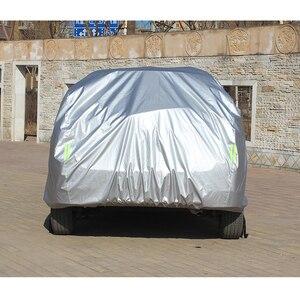 Image 3 - Pełne pokrowce samochodowe do akcesoriów samochodowych z bocznymi drzwiami otwarta konstrukcja wodoodporna do Toyota CHR RAV4 Camry Corolla CHR Yaris Avensis