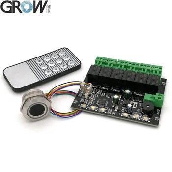 GROW K219-A + R503 программируемая инфракрасная панель управления отпечатком пальца, реле управления временем