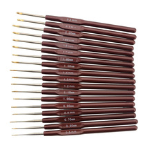 Crochet Hook Knitting-Needles Yarn Sewing-Tools Weave 4-Sizes-Hooks for Lace Dolls DIY