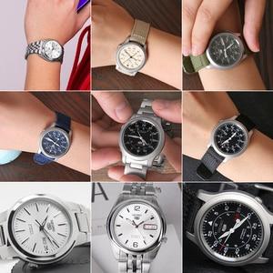 Image 5 - セイコー腕時計メンズ 5 自動時計を高級ブランド防水スポーツメンズ腕時計セットメンズ腕時計防水時計レロジオmasculino
