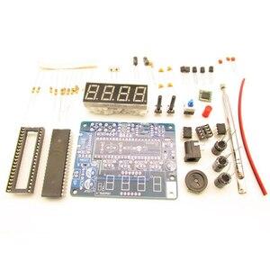 Mini Radio FM numérique bricolage 4.5 V-5.5 V cadeau Transparent avec coque récepteur stéréo 2W haut-parleur Kit électronique à souder son à la maison