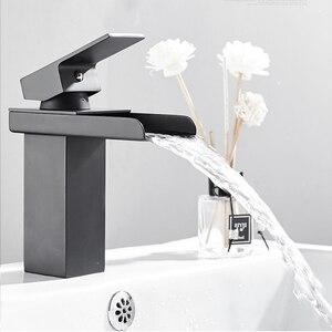 Image 5 - Robinets de mélangeur de lavabo montés sur le pont, mitigeur dévier de salle de bains robinets deau chaude et froide robinet de lavage à une poignée robinets dévier Torneira