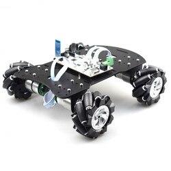 Stm32f103rct6 Mecanum roue Robot Kit de voiture avec tableau de commande PID moteur en boucle fermée entraînement Open Source pour ROS Robot bricolage tige jouet