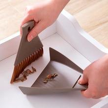 Dustpans-Set Broom Cleaning-Tools Desktop-Sweeper Table Household Mini