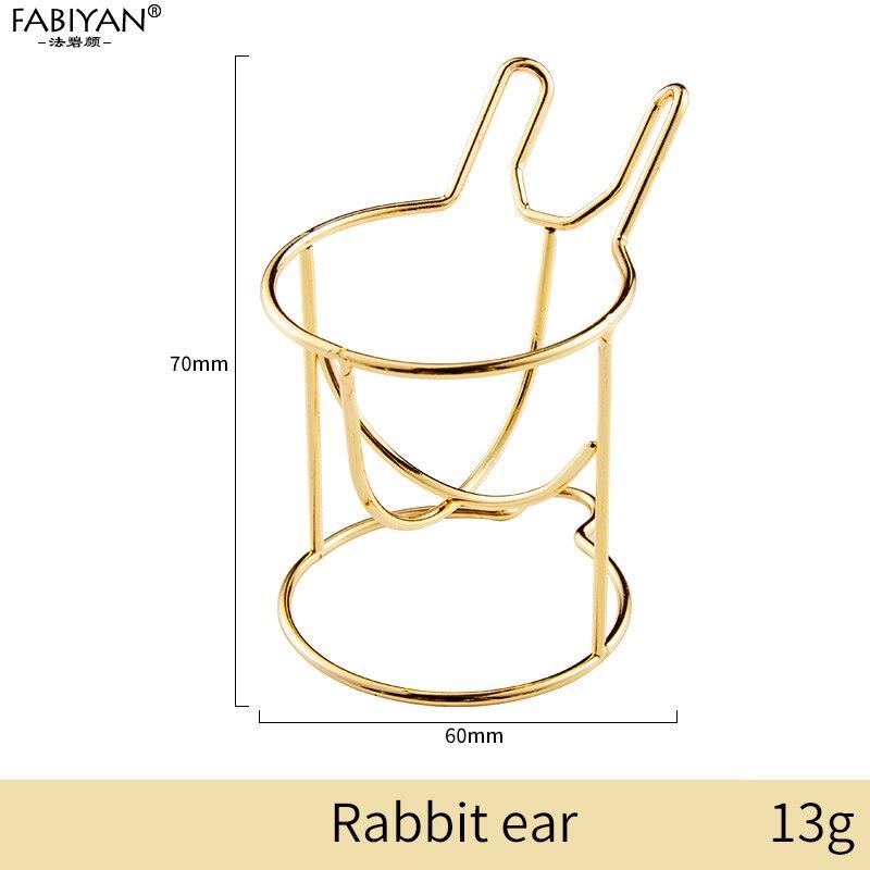 Gold Rabbit ear