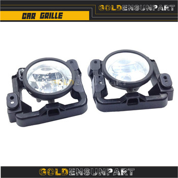 One Pair ( Left & Right ) Glass Fog Driving Light Lamp 2009 2010 33900-TL0-A01 33950-TL0-A01 for TSX