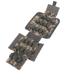 Anti-corrosion 12G Bullets Hunting Ammo Bags Waterproof Hunting Shells Package CS Field Outdoor 25-Hole Bullet Pouches