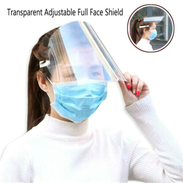 Anti Saliva UV Hat Full Face Shield Masks Epidemic Protection Hat Clear Anti-fog Windproof Isolation Visors Hats 2