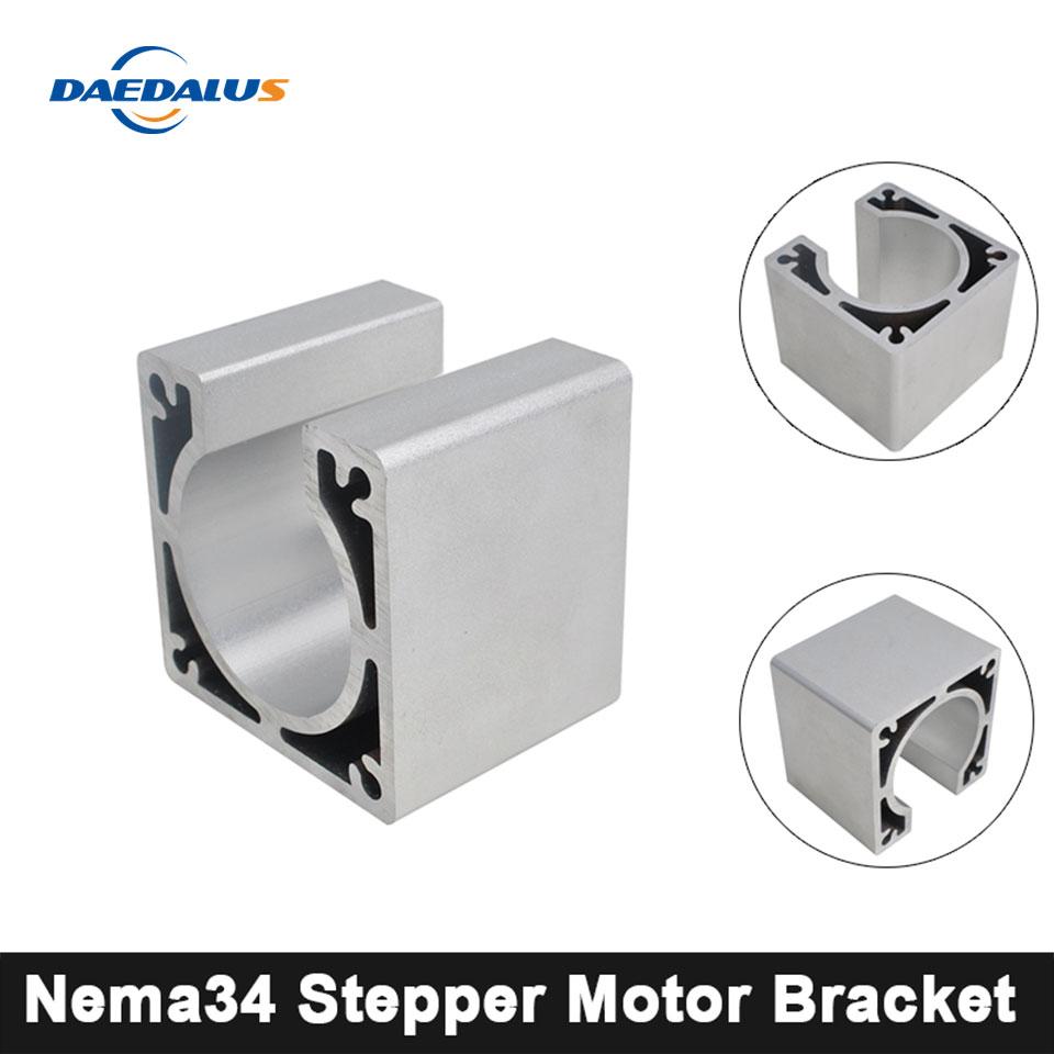 Heavy Mounting Bracket for 86mm NEMA34 stepping motor Alloy Steel
