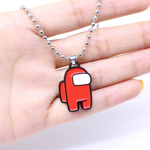 Pendant Necklace Decoration-Accessories Peripheral-Collar Amongus Gifts Women for Red
