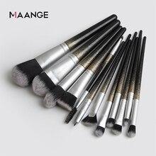 12 PCS Makeup Brushes Set Eye Shadow Blending Eyeliner Eyelash Eyebrow Brushes E
