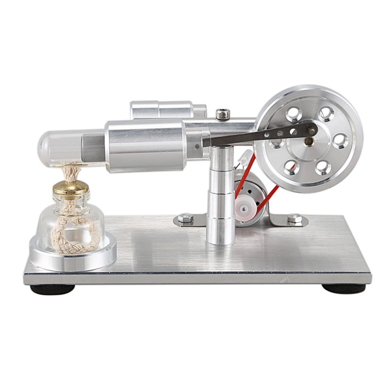Hot Air Stirling Engine Experiment Model Power Generator Motor Educational Physic Steam Power Toy Design Gifts