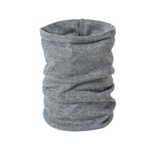 2019 New Winter Warm Brushed Knit Neck Circle Solid Go Out Wrap Cowl Loop Snood Shawl Outdoor Ski Climbing Scarf For Men Women 2019 new winter warm solid brushed knit neck circle outdoor ski climbing scarf for men women go out wrap cowl loop snood shawl