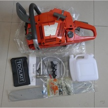 372 382 GASOLINE CHAINSAW W/ 55CM GUIDE BAR & SAW CHAIN 72cc 2 STROKE HORSE POWER STROMG NEUTRAL PETROL CHAIN SAW